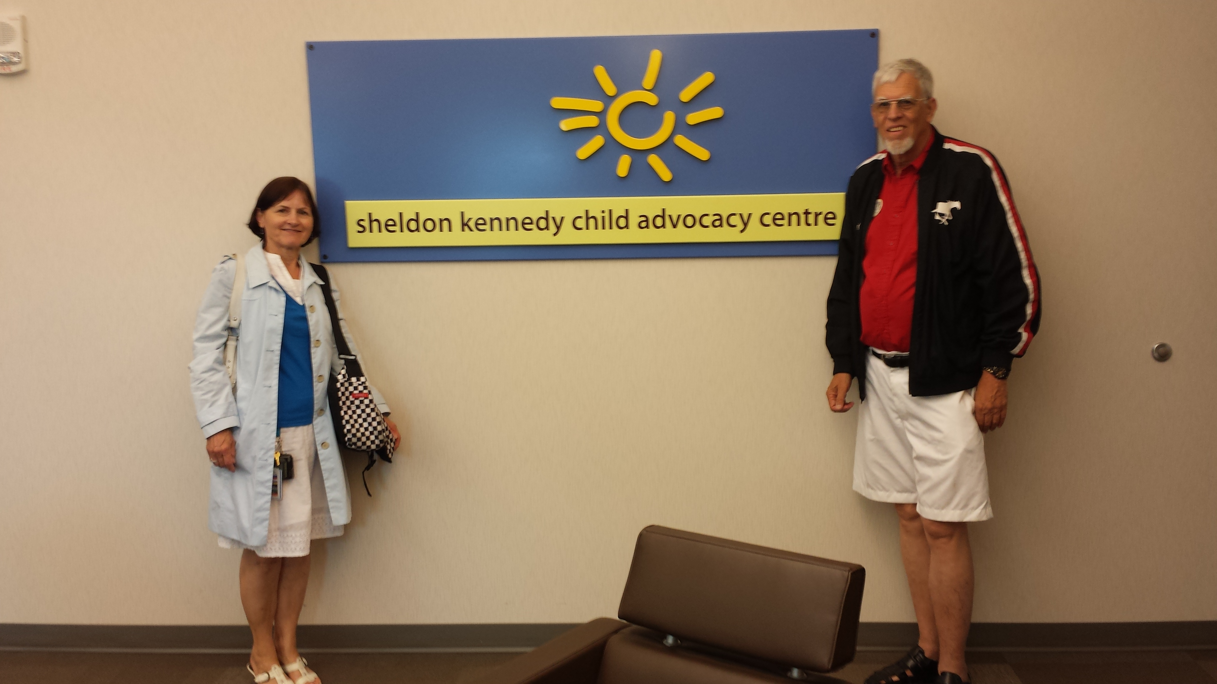 lions district governor don edy and partner lynn at sheldon kennedy child advocacy centre 20150629_135734