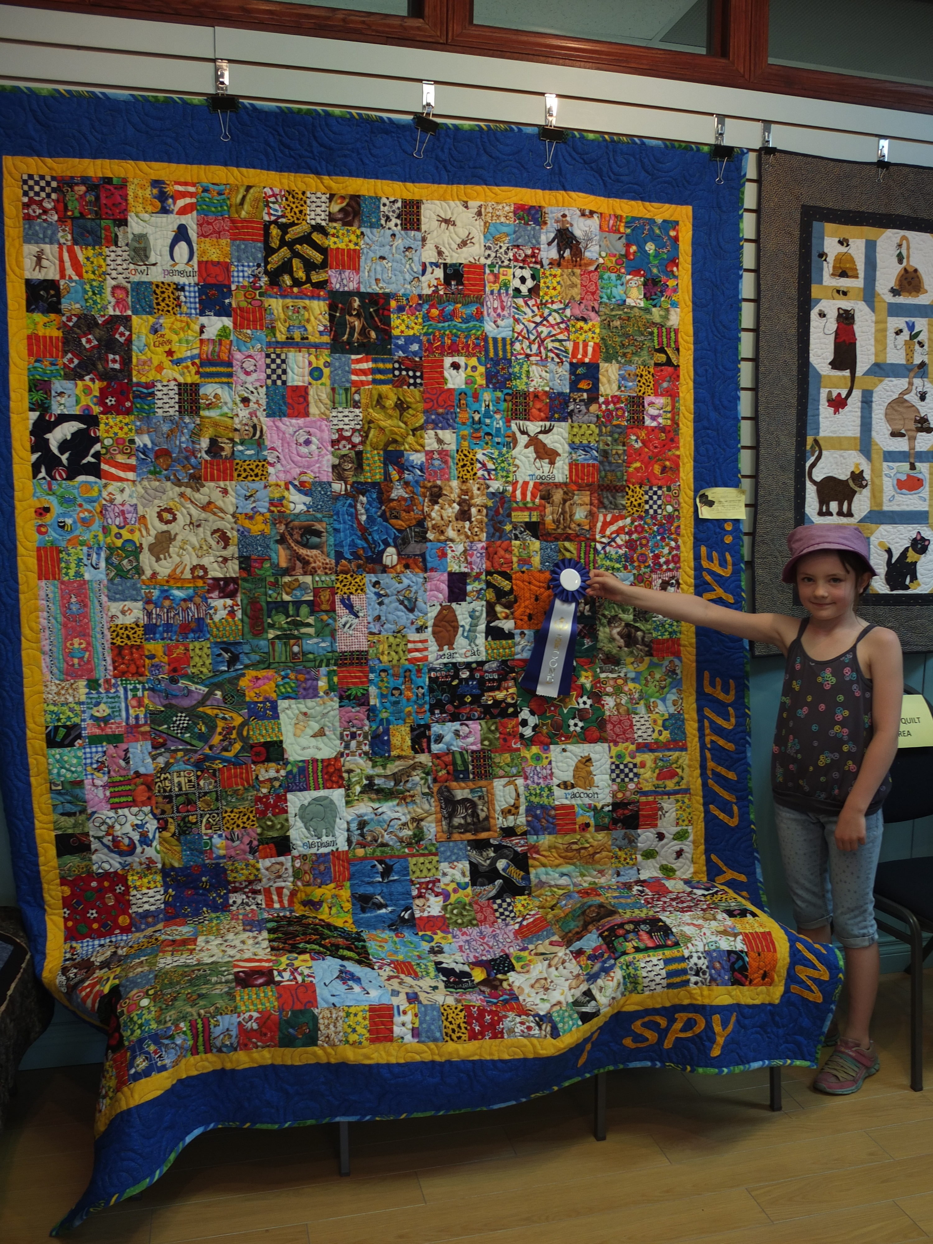 Sue Knowler's quilt 2nd prize  (large 2106