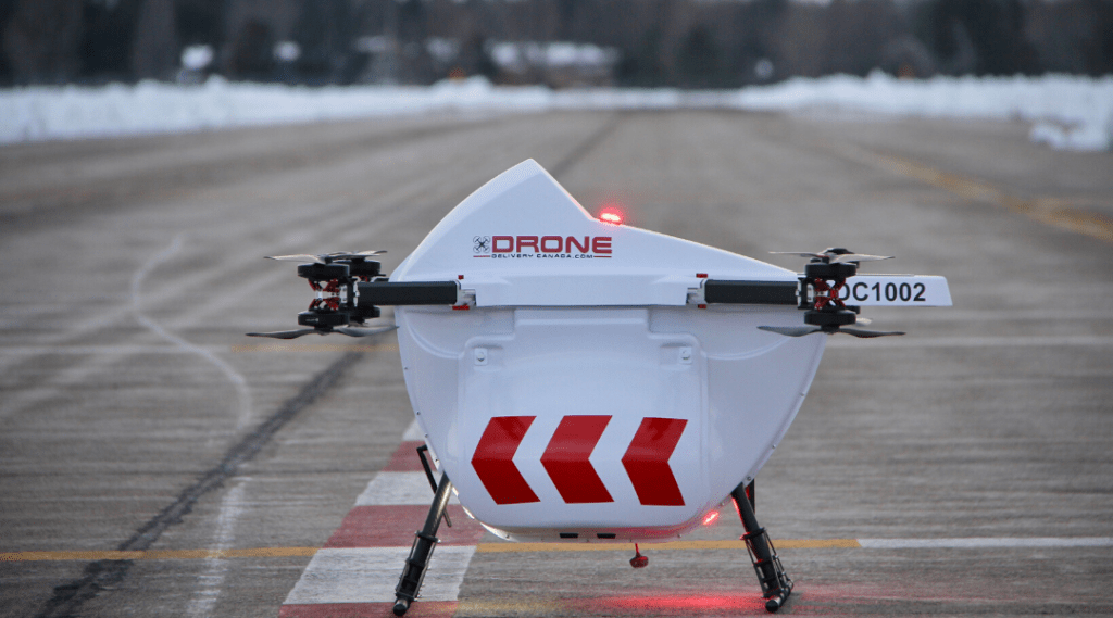 Drone Delivery Canada Announces Commercial Agreement with Edmonton International Airport