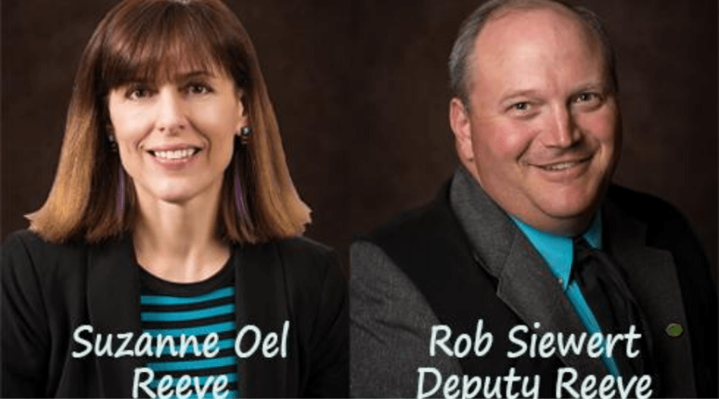 New Reeve and Deputy Reeve for Foothills County