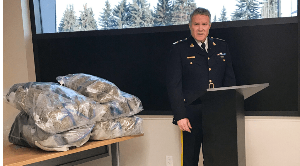 RCMP Traffic Services Significant Seizures Take Over 233,000 Average Drug Dosages Off Alberta Roads